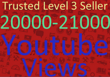 Add 20000-21000 Adsence Safe High Retention  Views Within 36-48 Hours Instant Start