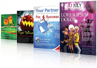 I will design an AWESOME flyer for