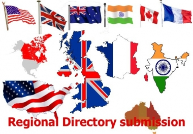 I will manually submit your website in 30 high page rank Local or regional directory