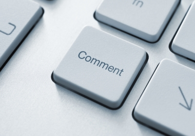 Get you 70000 Blog Comments To your website and provide full report of my work