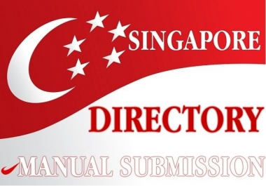 I will manually submit your site in 31 Singapore directory
