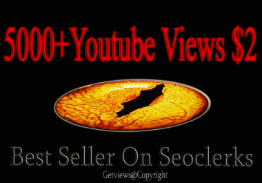 5000 Retention Youtube views