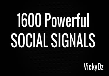 1600 Powerful SOCIAL SIGNALS