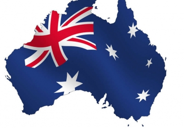 I will do 80 backlinks on Australia com au blog domains!!!***
