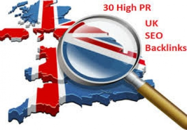 I will do 30 high pr UK seo backlinks@@!!!^^***