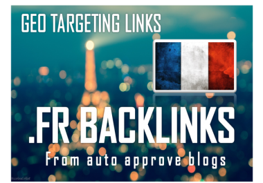 ##I Will Create 150 Backlinks On French Fr Blog Domains@@##