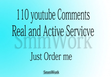 I Will Provide U Tube Custom 110 Comments in Your Video only