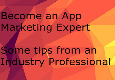 Give you my secret app marketing method