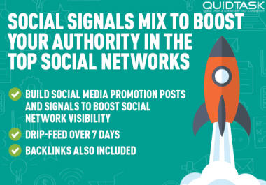 1500 PR9 Social Signals To Boost Your Authority In The Top Social Networks - Promotion to 1 MILLION people - Boosts SERP, SEO and Traffic