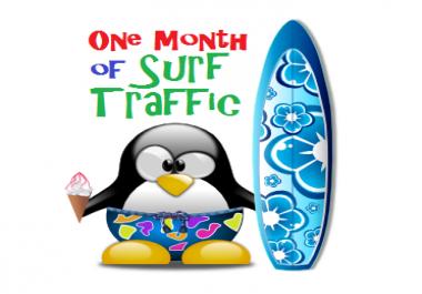 Monthly Traffic Exchange Hits Plus Free Bonus