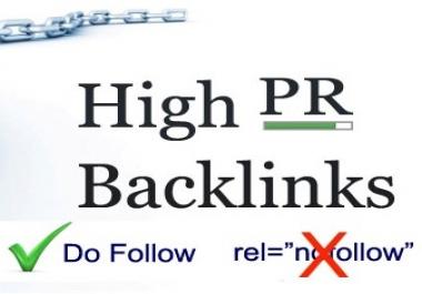 provide a list of 1000 high PR (1-8) blogs/websites to build dofollow backlinks