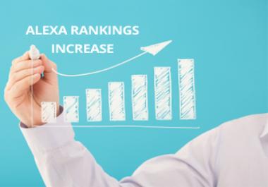Boost USA Alexa Ranking Under 30K