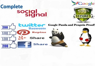 Provide 400 PR9 backlinks from Social Sharing