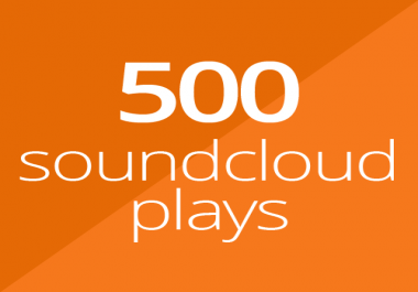 500 SoundCloud Plays for $1