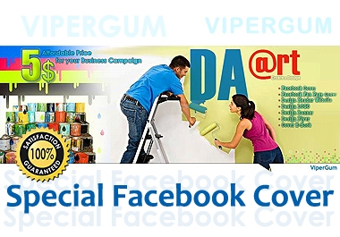Create Special Business Campaign Facebook Timeline Cover - Facebook Cover