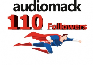 I will add 110 Followers to your Audiomack TODAY