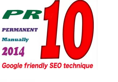 manually 20 PR10 High PR Backlinks Permanent dofollow edu