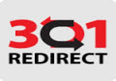 build 50 permanent 301 redirect backlinks, new technique to safe quality seo..