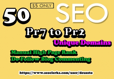 I Will do Penguin and Panda Safe Manual 50 Unique Domain Backlinks Actual DA92 to Da20
