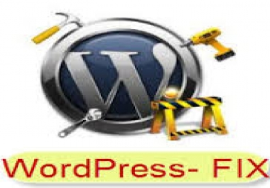 fix Wordpress error, customize wordpress theme and fix css issues..