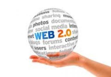 create 40 High PR 9 to 2 Web 2 Blogs..