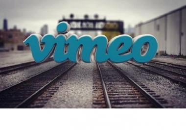 provide you 1000 Vimeo Video Views Plays