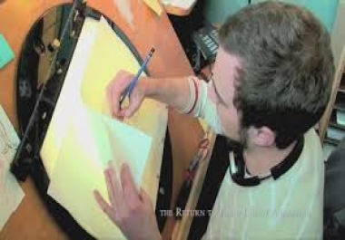 create an amazing whiteboard or digital Hand Drawn Video Scribe For You In 24hours..