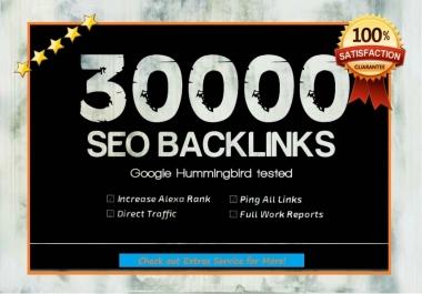 create 30000 backlinks to your providing domain