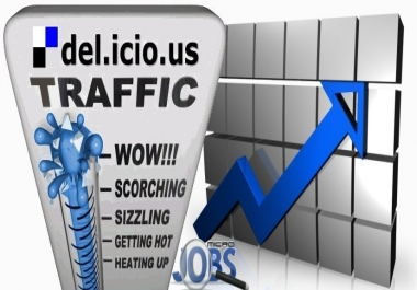 Social Traffic from Delicious