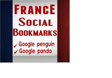do 10 France social bookmarking manually, French