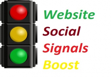 6,555 +++  Most Powerful SOCIAL SIGNALS Effective Monster Service Only