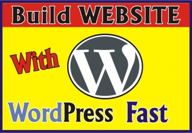 I will show You How To Build WEBSITE With Wordpress Fast