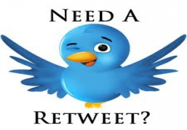 give you +50 real Twitter ReTweets