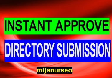 INSTANT APPROVE 50+ DIRECTORY SUBMISSION
