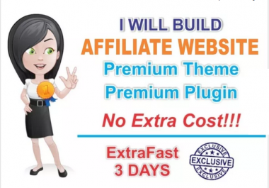 build you AFFILIATE amazon website in 3 days