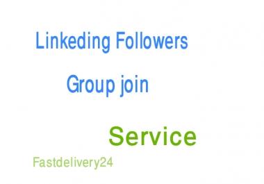 Add 1000 linkedin share or followers