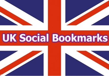 do 20 UK social bookmarking submissions manually
