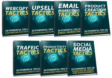 350 Sales And Marketing Tactics
