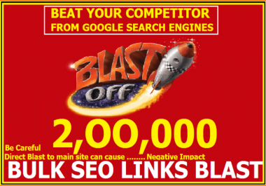 I will build Exclusive Seo Link 2017 v1  made 200,000 Gsa ser bulk, backlinks, blast for seo