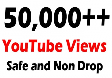50,000 or 50k or 50000 YouTube Views with 100 Likes Free
