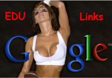 create 160 EDU and gov seo backlinks