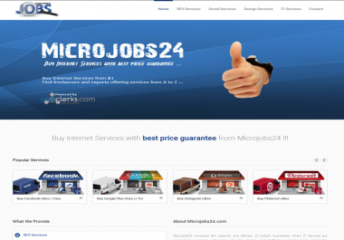 Your Service on Microjobs24.com