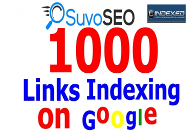 I will index up to 1000 backlinks in google