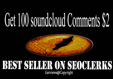 Get you 100++ Soundcloud comments