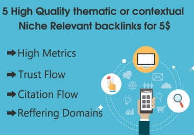 offer 5 High Metrics Niche Relevant blog comments Backlinks with Contextual Comments + Guaranteed Serp in 30 days