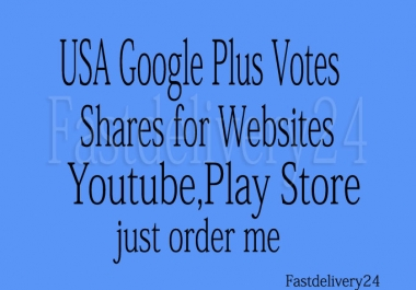 give you 150 permanent usa google plus votes or 100 follows or circles