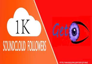 1000 s oundcloud follower s Or 1000 Like s Or 1000 Repost