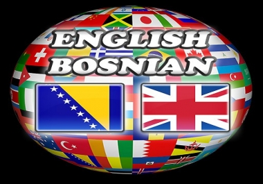Translate English to Bosnian or Bosnian to English
