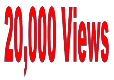 Superfast 3,000++++ Non Drop Views for Youtube Video Link within 48 hours