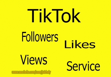 Add 50,000 TikTok Views Service Real And Active